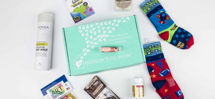 Ecocentric Mom December 2017 Subscription Box Review + Coupon