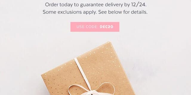 Popsugar Must Have Box Sale: Save 20% On December or Limited Edition Boxes!