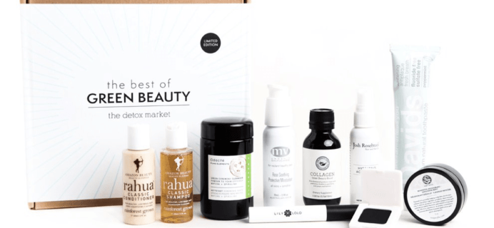 The Detox Market 2017 Best of Green Beauty Bundle Available Now!