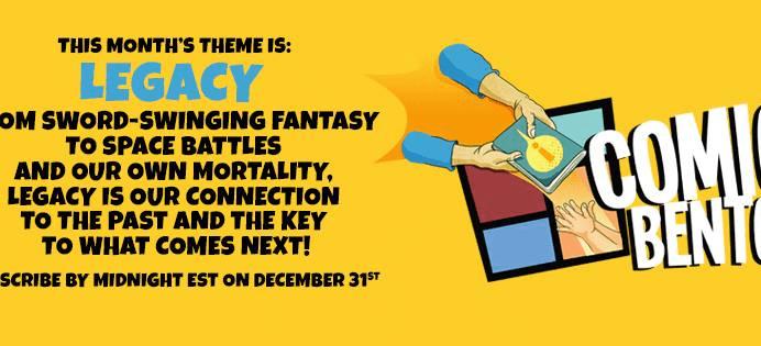 Comic Bento December 2017 Theme Spoilers!