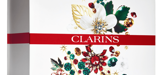 The Clarins Celebration Box – New Limited Edition Box Available Now!