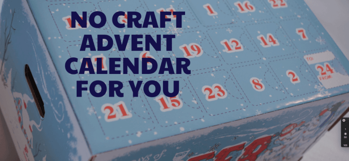 Craft Advent Box Available Now!