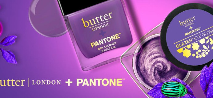 butter LONDON Pantone Color of the Year Set Now Available!