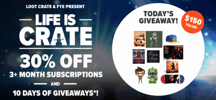 LAST DAY Loot Crate Holiday Sale – 30% Off 3+ Month Subscriptions!