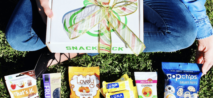 Snack Sack December 2017 Spoilers + 30% Off Coupon