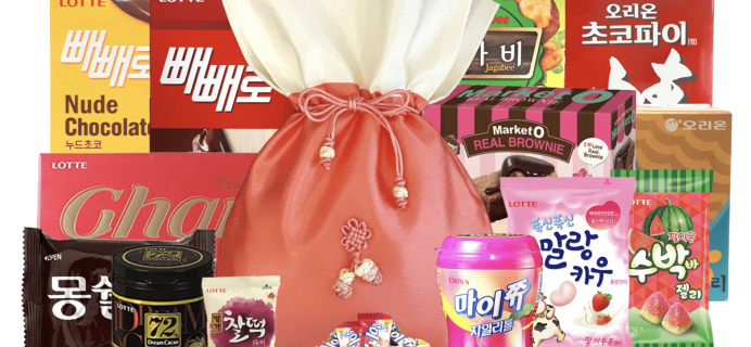 Korean Snack Box Coupon: Get Your First Box For Only $10!