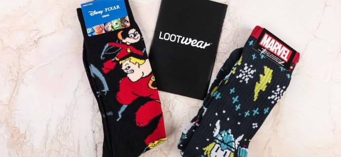 Loot Socks by Loot Crate November 2017 Subscription Box Review & Coupon