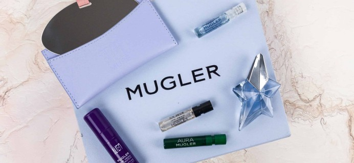 Mugler Addict Fall 2017 Subscription Box Review