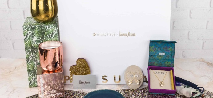 Popsugar Neiman Marcus Must Have Box 2017 Review + Coupon