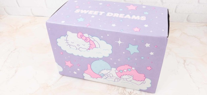 Sanrio Small Gift Crate Winter 2017 Subscription Box Review