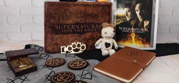 Supernatural Box Winter 2017 Giveaway!