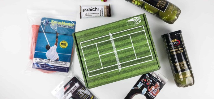 Tennis Trunk December 2017 Subscription Box Review & Coupon