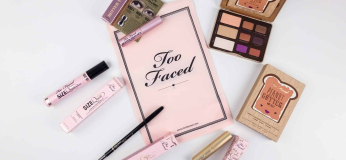 Too Faced Cyber Monday 2017 Mystery Bag Review