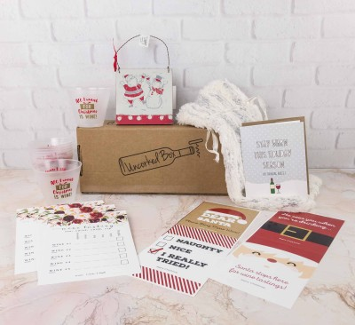 Uncorked Box December 2017 Subscription Box Review