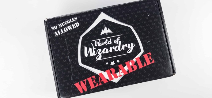 Geek Gear World of Wizardry Wearables Subscription Box Review + Coupon – November 2017