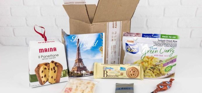 November 2017 Yummy Bazaar Subscription Box Review – Mini Box