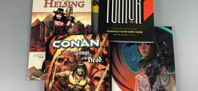 Comic Bento December 2017 Subscription Box Review + Coupon.