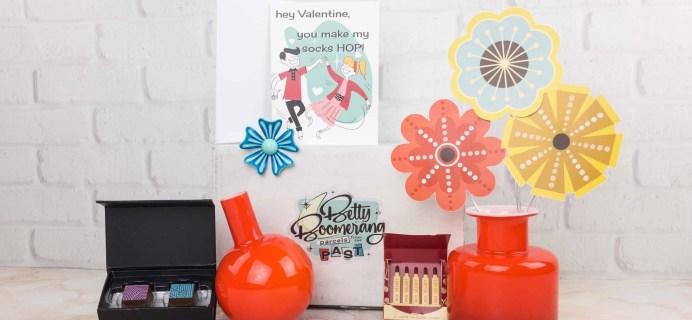 Betty Boomerang January 2018 Subscription Box Review + Coupon