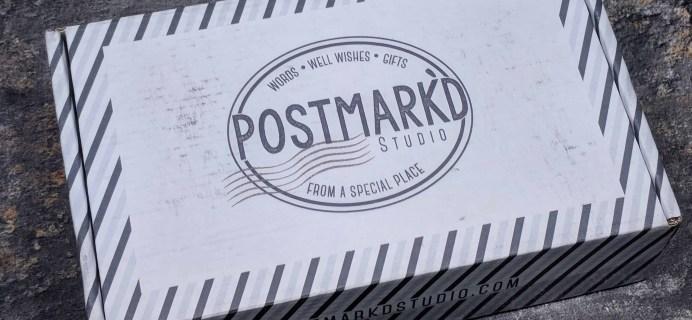 Postmark'd Studio PostBox March 2018 Spoilers #2 + Coupon!