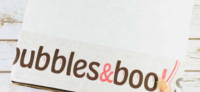 Bubbles & Books Subscription Box Review + Coupon – December 2017