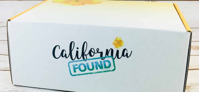 California Found Subscription Box Review + Coupon – December 2017