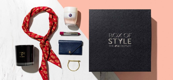 Rachel Zoe Box Of Style Winter 2017 Select Edition Box Available Now + Coupon!