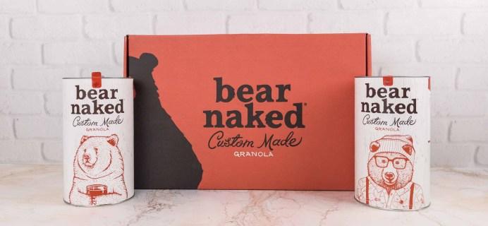 Bear Naked Granola January 2018 Subscription Box Review + Coupon