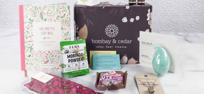 Bombay & Cedar Subscription Box Review + Coupon – January 2018