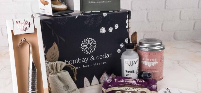 Bombay & Cedar Subscription Box Review + Coupon – December 2017