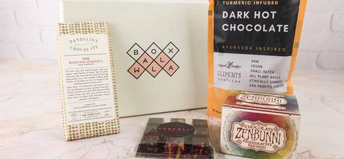 Boxwalla Food December 2017 Subscription Box Review