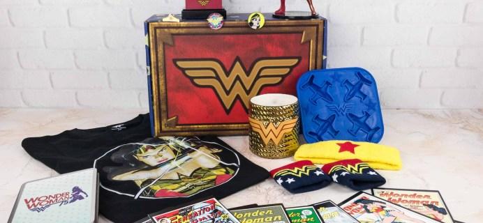 DC Comics World's Finest: The Collection Winter 2017 Box Review – WONDERWOMAN!