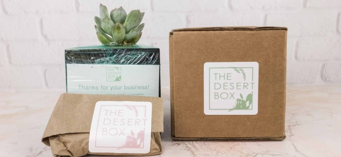 The Desert Box December 2017 Subscription Box Review