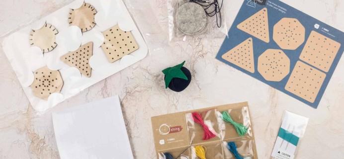 Doodle Crate ZIPPER PULLS Box Review & 40% Off Coupon