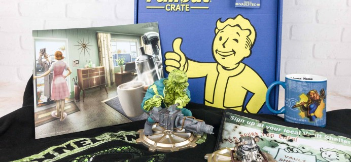Loot Crate Fallout Crate December 2017 Review + Coupon