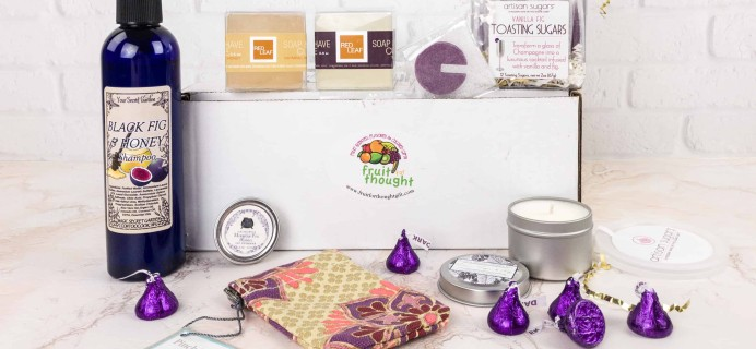 Fruit For Thought January 2018 Subscription Box Review & Coupon