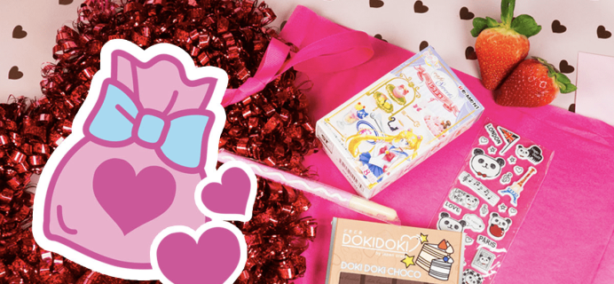 Doki Doki Crate Deal: Free Valentine's Surprise Bag With First Box!