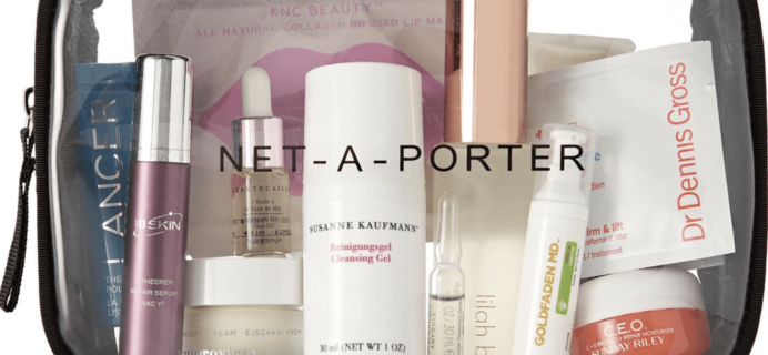 Net-A-Porter Ultimate Renew Beauty Kit Available Now!