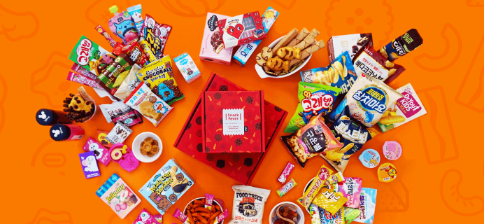 Snack Fever January 2018 Spoiler #1 + Coupon!