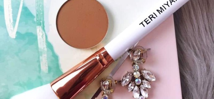 Teri Miyahira The Capsule Edit Deal: Get Free Bronzer & Brush Set + 20% Off! Until MIDNIGHT EST ONLY!