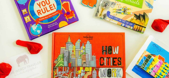 New Subscription Boxes: The Wordy Traveler Kids Available For Pre-Order + Coupon!