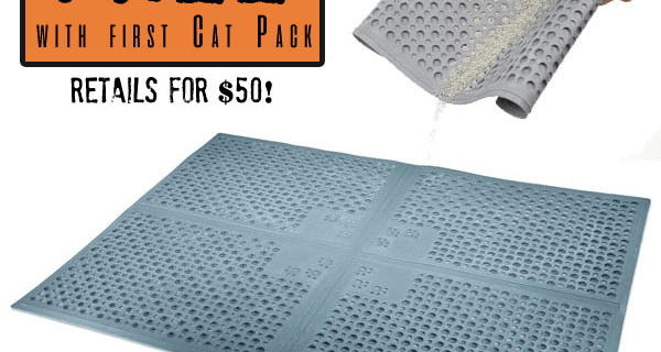FREE Cat Mat with Pet Treater Cat Pack Subscription