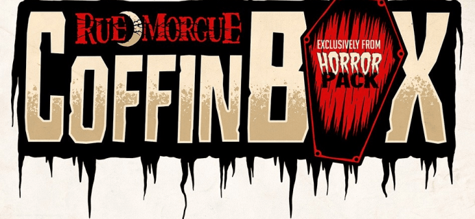 New Subscription Boxes: Rue Morgue Coffin Box Coming Soon!