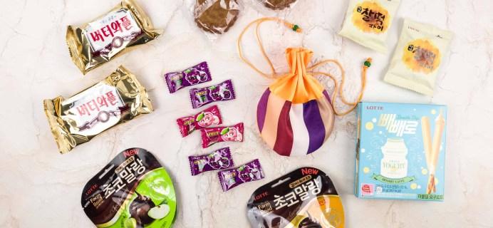 Korean Snack Box January 2018 Subscription Box Review + Coupon