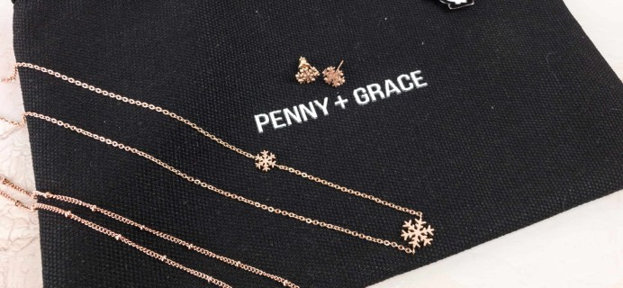 Penny + Grace December 2017 Subscription Box Review