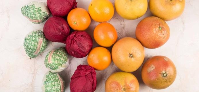 Pittman & Davis Review – Fresh Fruit Rainbow Box