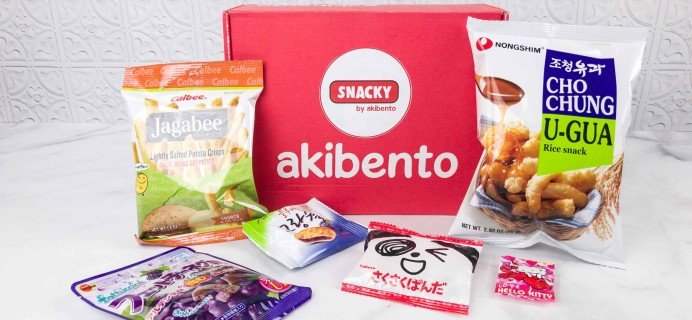 Snacky Box January 2018 Subscription Box Review + Coupon!