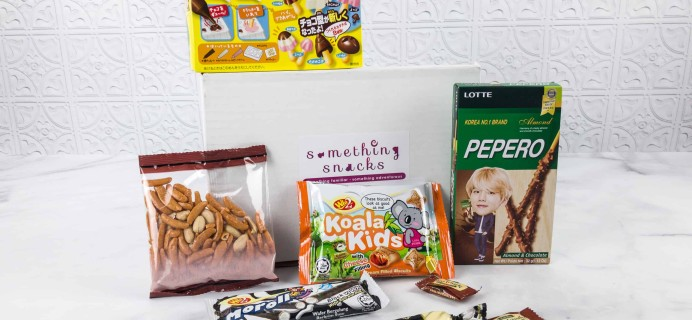 Something Snacks January 2018 Subscription Box Review