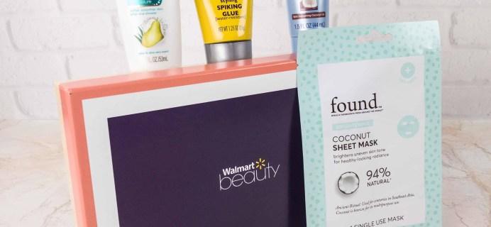 Walmart Beauty Box Fall 2017 Review – Classic Box