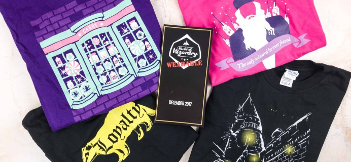 Geek Gear World of Wizardry Wearables Subscription Box Review + Coupon – December 2017
