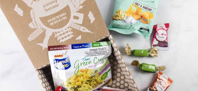 January 2018 Yummy Bazaar Subscription Box Review – Mini Box